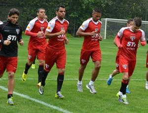 Grupo jogadores São Paulo treino Muricy (Foto: Site Oficial / saopaulofc.net)