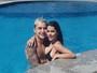 MC Gui beija muito a namorada e curte clima de romance em Fortaleza