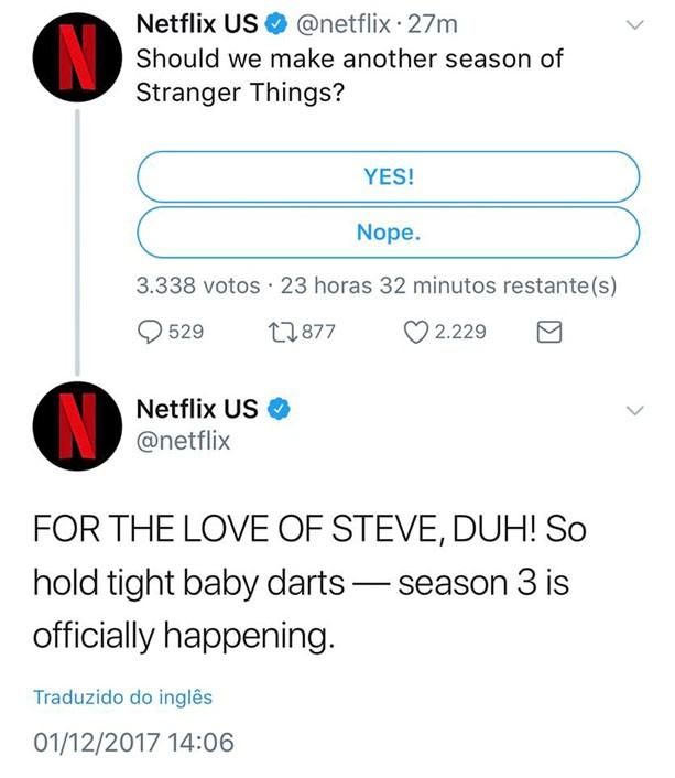 Anúncio da terceira temporada (Foto: Reprodução/Instagram)