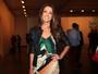Patrícia Poeta exibe corpo bem mais magro no SPFW: 'Tudo dominado'