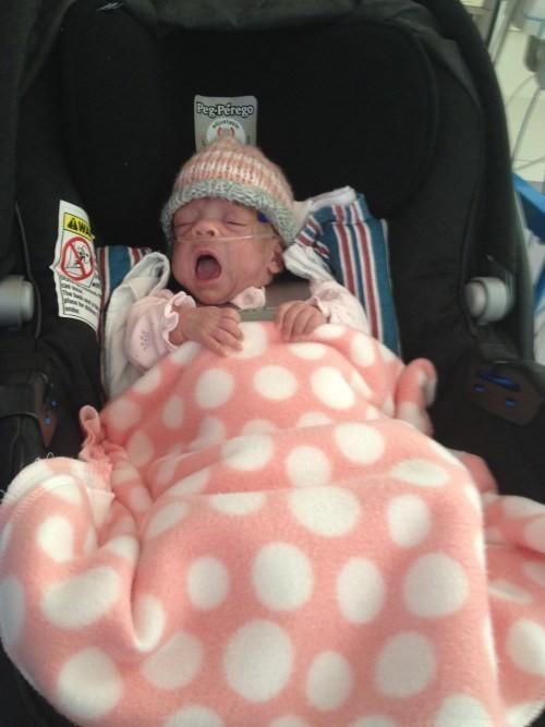 Bebê fica 116 dias na UTI (Foto: Reprodução Instagram)