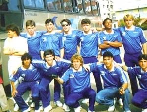 danrlei grêmio juvenil olímpico (Foto: Arquivo Pessoal/Reprodução)
