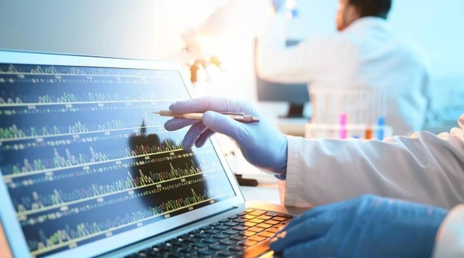 O código binário foi traduzido para bases do DNA: A, C, G e T  (Foto: Divulgação/Twist Bioscience)