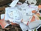 Cartas são abandonadas em barranco no AC; Correios investigam