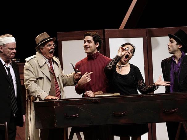 Cena do espetáculo 'O Olho Azul da Falecida' (Foto: Guga Melgar)