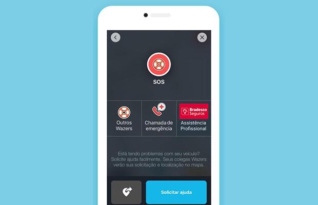 Waze agora permite chamar policiais, ambulância ou bombeiros no Brasil (Foto: Divulgação)