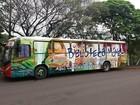 Biblioteca Móvel estaciona no Jardim Maracanã, em Presidente Prudente