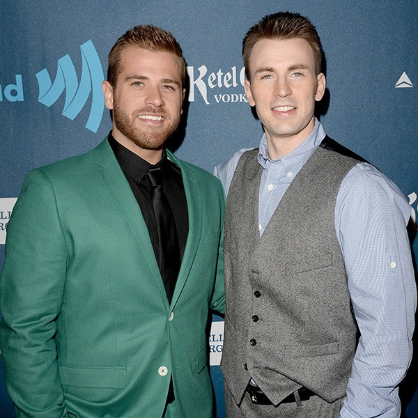 Scott e Chris Evans (Foto: Getty Images)