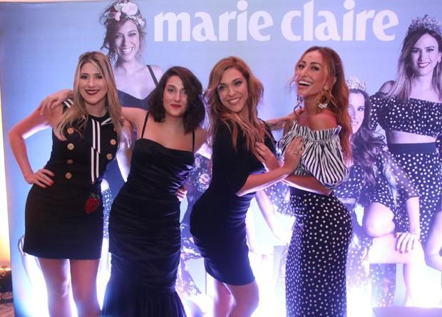 Dani Calabresa, Clarice Falcão, Júlia Rabello e Sabrina Sato (Foto: Wallace Barbosa e Daniel Pinheiro/AgNews)
