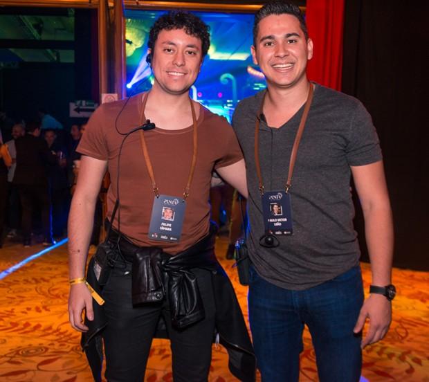 Os sócios da Box Dream Felipe Camara e Paulio Victor Leão (Foto: Rodrigo Guillenea/Divulgação)