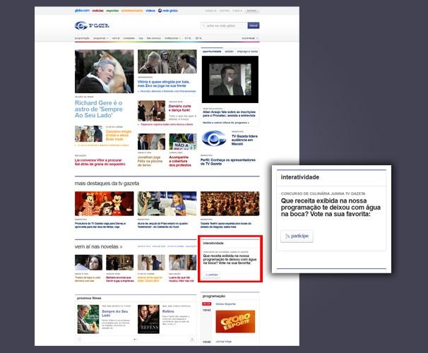 Veja o local da enquete e participe (Foto: Divulgação/TV Gazeta)