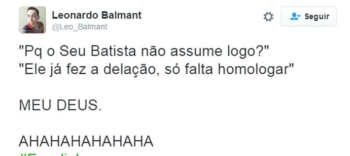 Bombou Escolinha - Batista (Foto: Reprodução Internet)