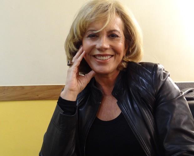 Arlete Salles - atriz conta momentos da carreira em programa de TV (Foto: Reprodução)