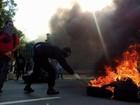 PMs feridos em protesto contra OSs serão promovidos, diz secretário