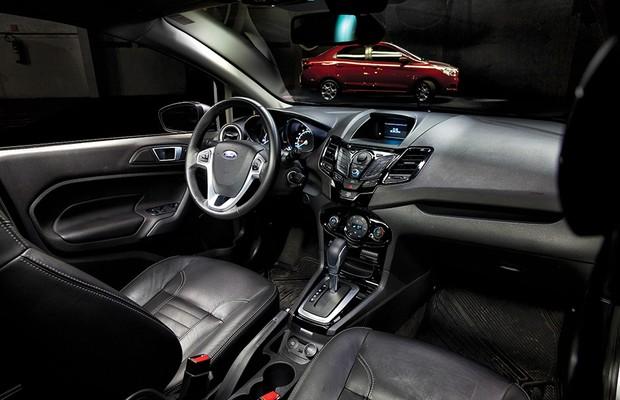 Ford New Fiesta Sedan (Foto: Leo Sposito)