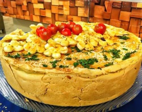 Torta de Padaria de Bacalhau