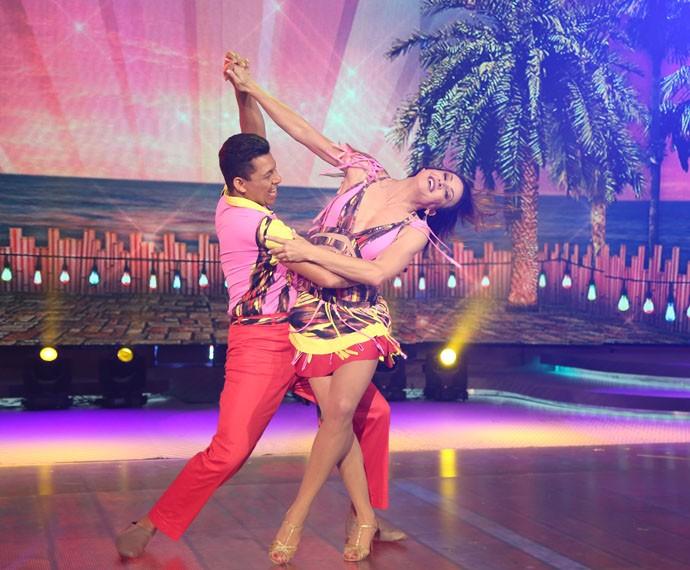 Maurren Maggi é eliminada do 'Dança dos Famosos' (Foto: Carol Caminha/Gshow)