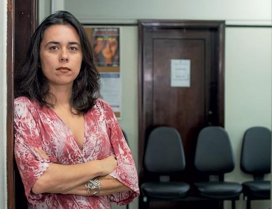 """A defensora pública Daniela de Albuquerque.""""É triste perceber que não estamos conseguindo garantir o direito á saúde (Foto:  Ricardo Correa/ÉPOCA)"""