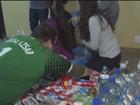 Grupo se reúne na Paróquia de São Benedito para fazer corações