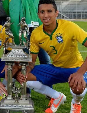 Marquinhos PSG brasil torneio de toulon (Foto: Agência Getty Images)