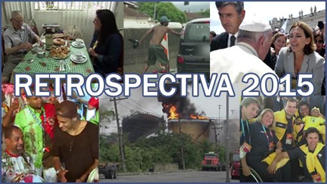 Reveja as matérias que marcaram os profissionais da TV Tribuna em 2015 (Foto: Arte TV Tribuna)