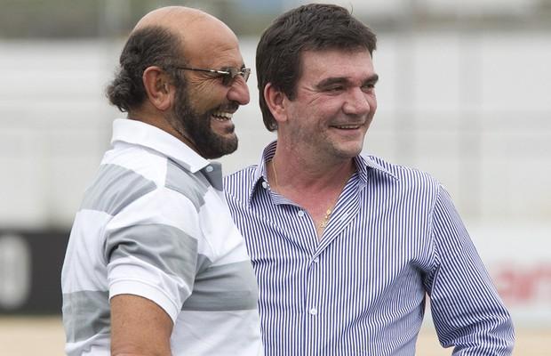 Luis Paulo Rosenberg e Andrés Sanchez (Foto: Daniel Augusto Jr / Ag. Corinthians)