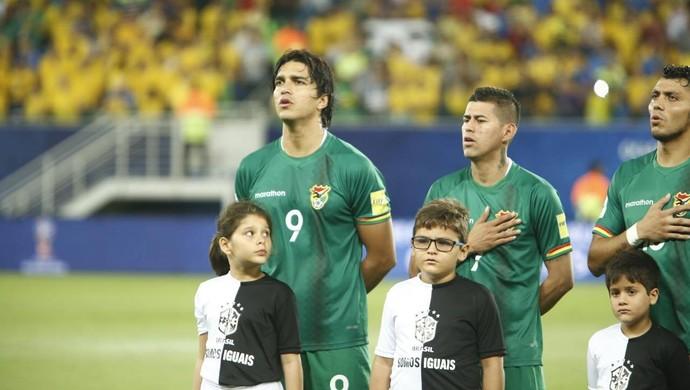 Marcelo Moreno Brasil x Bolívia (Foto: Alexandre Lago/GloboEsporte.com)