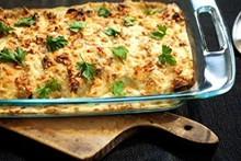 Panqueca de espinafre com ricota de molho branco do Cozinha Prática