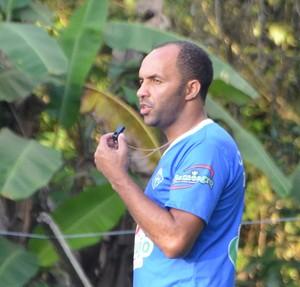 Ismael Gomes, técnico do Atlético-AC (Foto: Murilo Lima)