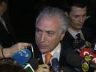 Dilma e Temer se reúnem e prometem relação institucional positiva