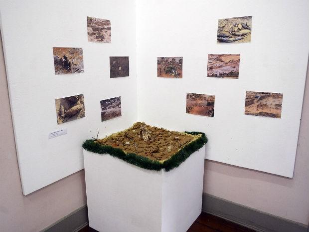 Visitantes também podem conferir fotos de Mariana após o rompimento da barragem (Foto: Divulgação/ Prefeitura de Jundiaí)