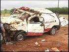 Vítima de acidente com ambulância em rodovia de Tanabi passa bem