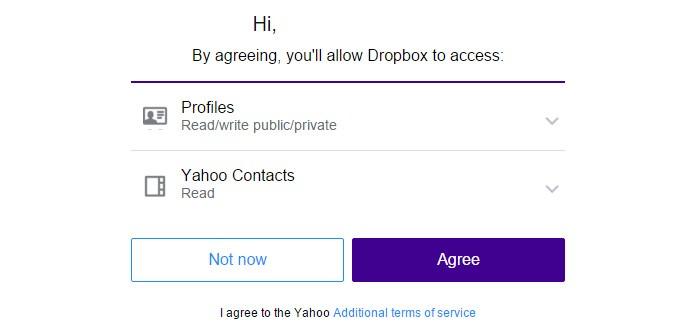 Com o Yahoo, não é diferente (Foto: Reprodução)