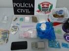 Trio é preso com ecstasy, LSD, cocaína e maconha no Jd. Bongiovani
