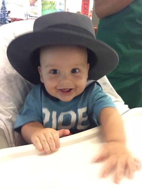 Lucca, filho de Luciana Coutinho (Foto: Arquivo pessoal)