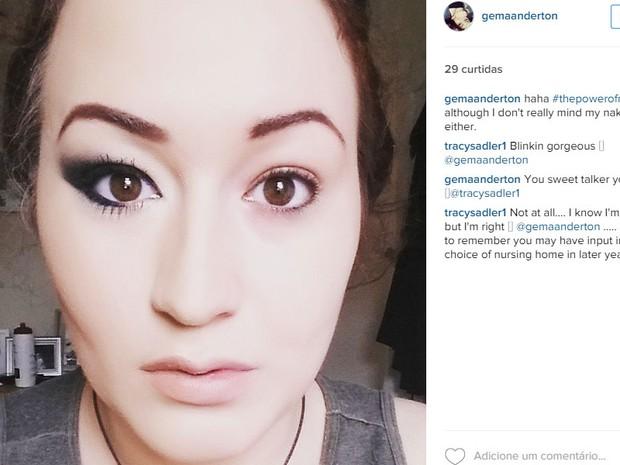 Mulheres participam de desafio de maquiagem no Instagram (Foto: Reprodução/Instagram)