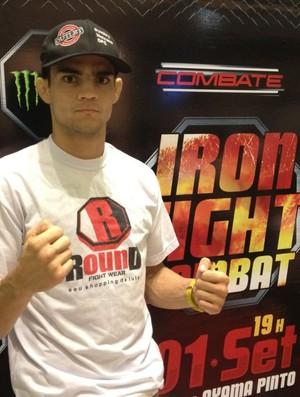 Dymitry foi derrotado no Iron Fight em Feira de Santana-BA (Foto: Divulgação/Arquivo Pessoal)