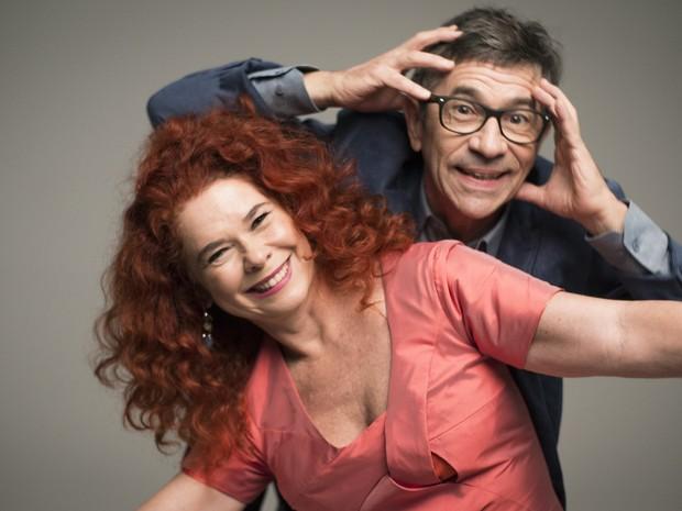 A dupla Palavra Cantada é formada por Sandra Peres e Paulo Tatit (Foto: Daryan Dornelles/Divulgação)