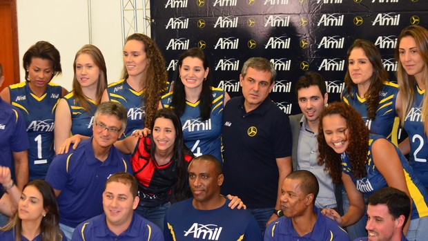 Apresentação vôlei campinas (Foto: Marcello Carvalho)