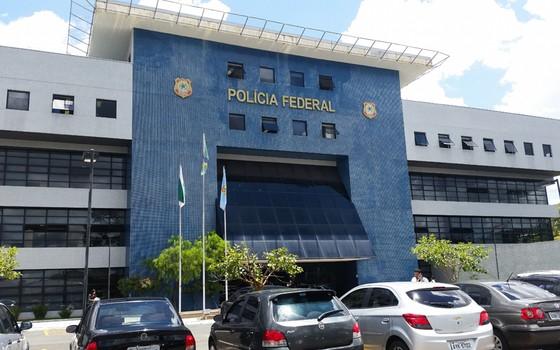Sede da Polícia Federal (PF) em Curitiba (Foto: André Richter / Agência Brasil)