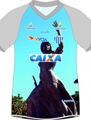 Camisa do Avaí homenageia Laguna (Foto: Divulgação / Avaí FC)
