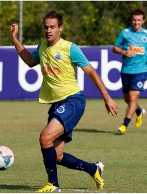 Thiago Carvalho promete treinar no limite máximo (Foto: Washington Alves / Vipcomm)