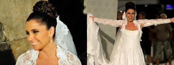 Casamento de Claudia (Giovanna Antonelli) e Vicente (Ricardo Pereira) foi um dos eventos mais esperados em 'Aquele Beijo' (Foto: Divulgação)