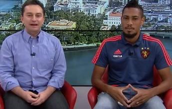 """""""Isto não é bom"""", diz Hernane, sobre a falta de vitórias do Sport fora de casa"""