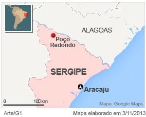 """Caminhos do Brasil - Em Poço Redondo (SE), equipe do G1 conhece a """"bala que matou Lampião""""."""