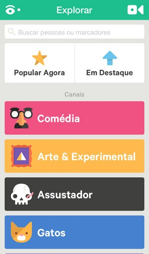Aplicativo do Vine ganhou versão totalmente em português (Foto: Reprodução)
