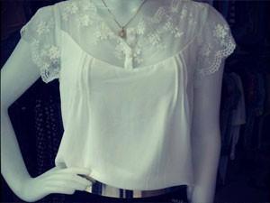107630430c532 Kelly Teixeira disse que se inspirou nas roupas de sua avó (Foto   Reprodução
