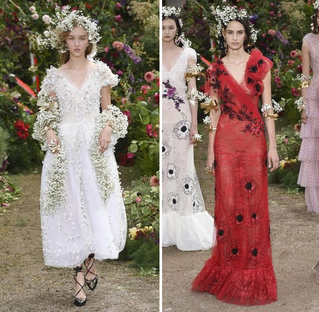 Rodarte spring/summer 2018 ready-to-wear shown unusually in July during the Paris Couture season (Foto: INDIGITAL)