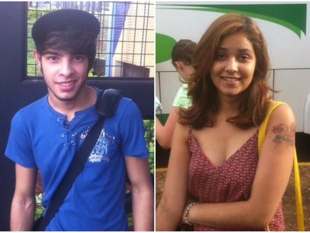 Candidatos da Unesp comentam a prova em Araraquara (Foto: Orlando Duarte Neto/ G1)