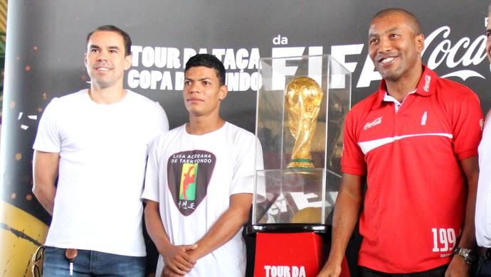 Tour da Taça no ginásio do Sesi, em Rio Branco (AC) (Foto: João Paulo Maia)